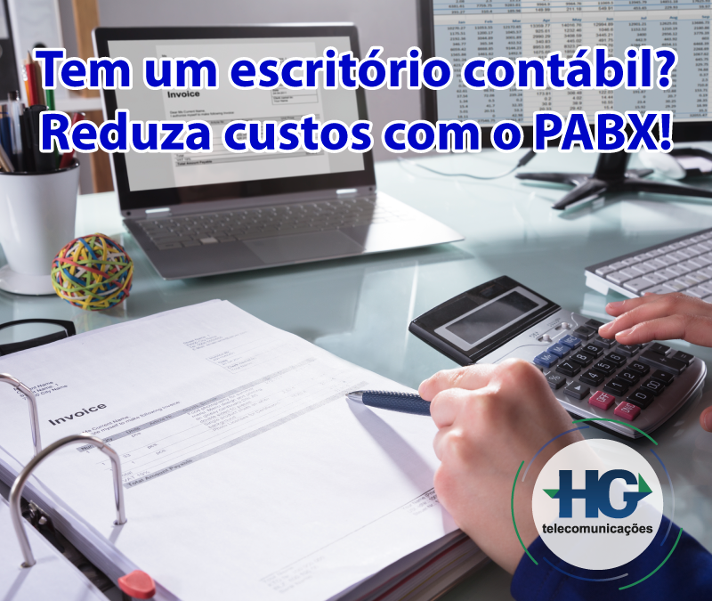 Tem um escritório contábil? Reduza custos com o PABX!