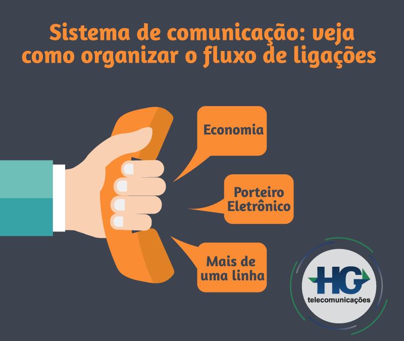 Sistema de comunicação: veja como organizar o fluxo de ligações.